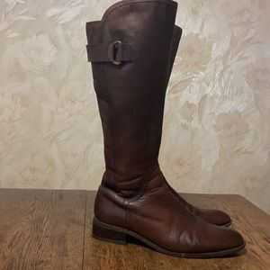 Jane Debster leather boots size 40